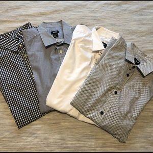 H&M button down shirts